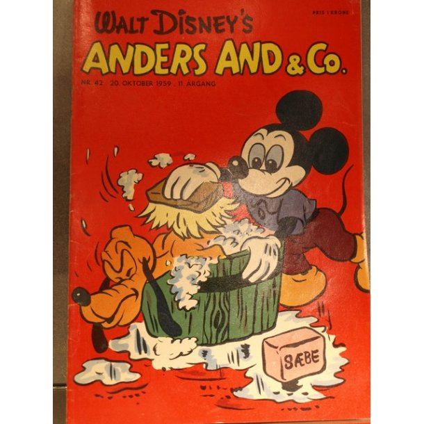 ANDERS AND NR. 42 1959