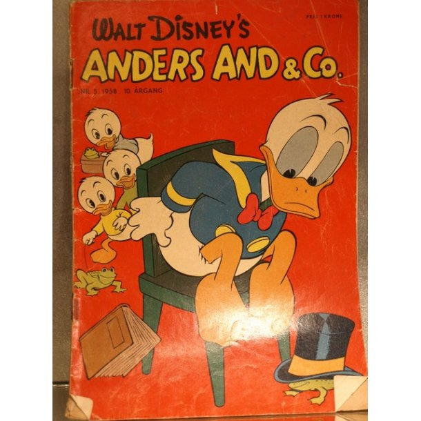 ANDERS AND NR.5 1958