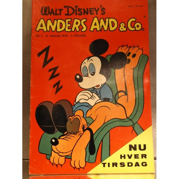 ANDERS AND NR. 2 1959