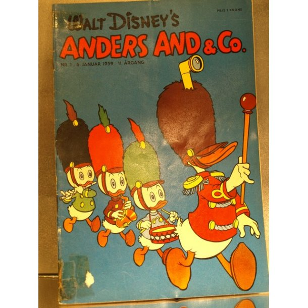 ANDERS AND NR. 1 1959