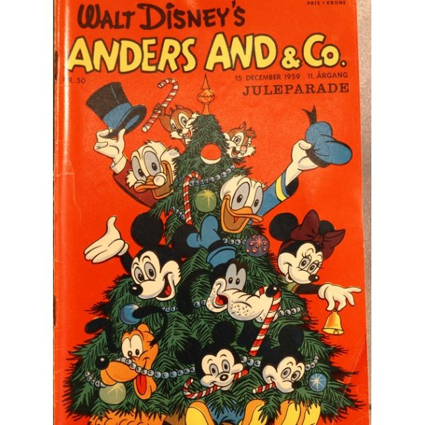 ANDERS AND NR.50 1959