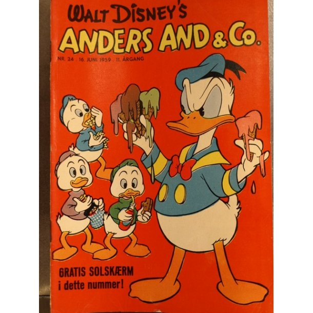 ANDERS AND NR. 24 1959