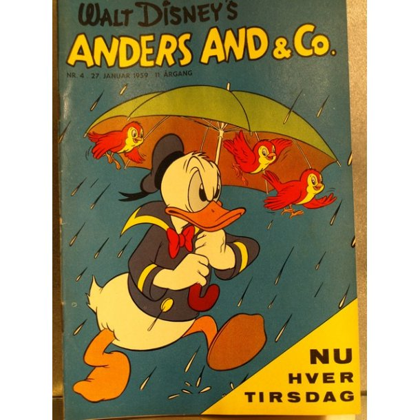 ANDERS AND NR. 4 1959