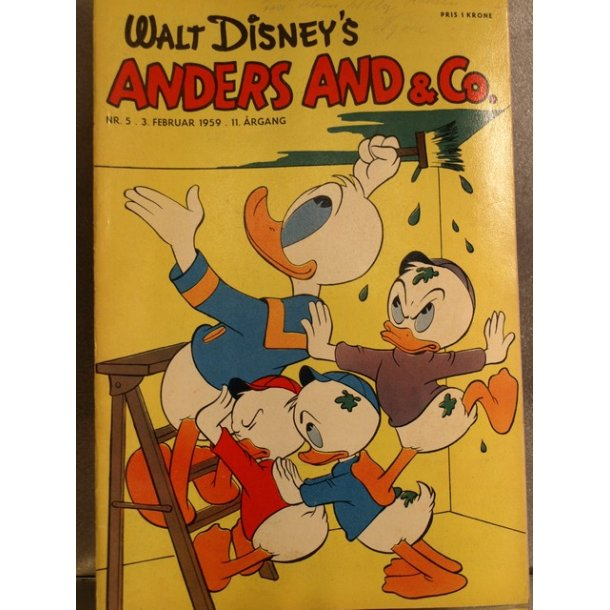 ANDERS AND NR. 5 1959